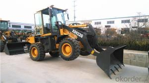 XD922G 1.8t Wheel Loader Payloader Bucket Capacity 0.8m3