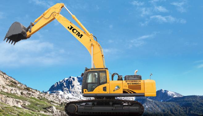 MC500LC-8 Cummins Hydraulic Crawler Excavator Digger