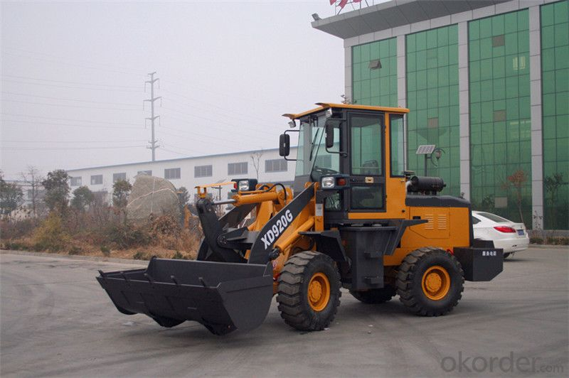 XD920G 1.5t Wheel Loader Payloader Bucket Capacity 0.8m3