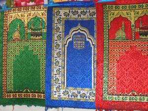 Cheap Muslim Prayer Rug Mat with Compass Wholesale