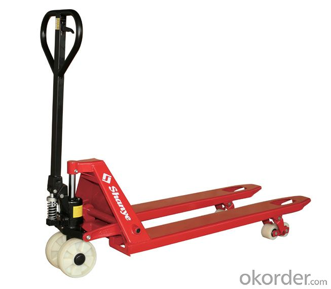 Hand Hydraulic Pallet Truck with Handbrake (DF PUMP)