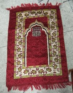 Foldable Islamic Muslim Prayer Mat for Travel with Good Quality