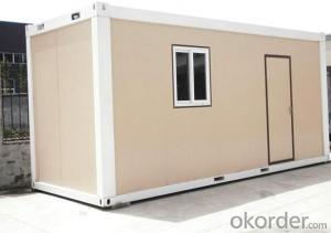 Prefabricated House Container Shape Kit Easy Built Home for Office Building or School
