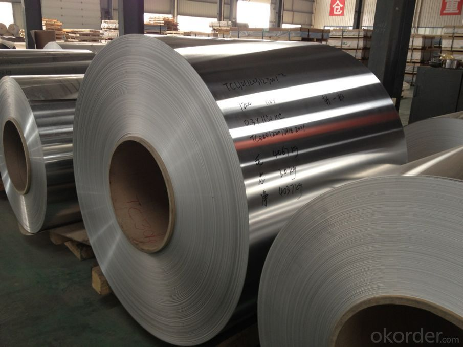 Aluminium Household Foil Stocks In Warehouse