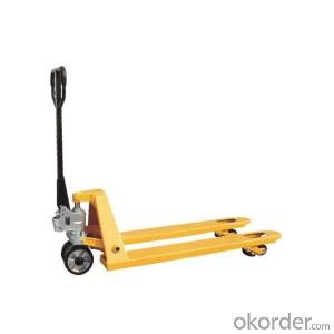 Hand Hydraulic Pallet  Truck for Sale with 1000~3000kg Capacity