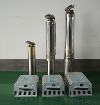 DC/AC Solar Irrigation Submersible Pumps