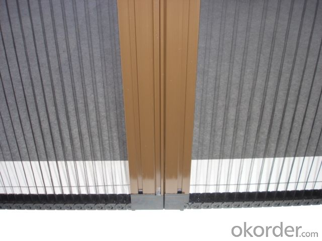 Polyester Pleated Mesh for Screen Window and Screen Door