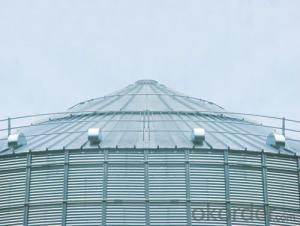 1000t Grain Storage Flat Bottom Silo Manufacturer