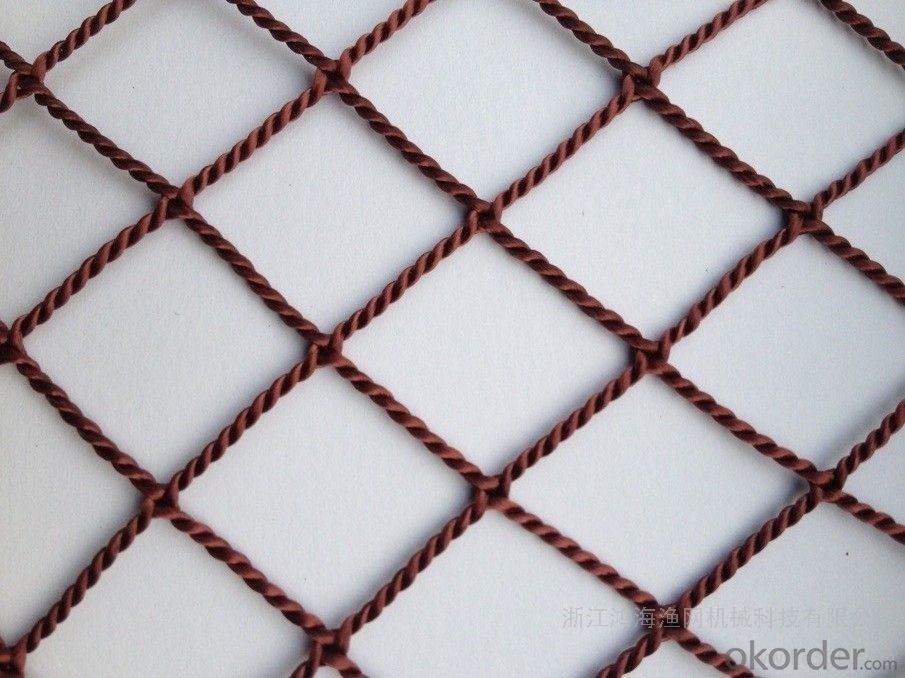 PP Knotless Safety Netting for Children with High Strength