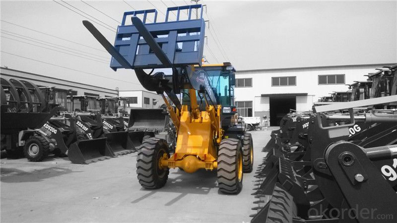 XD920F 2.8ton Pallet Fork Loader