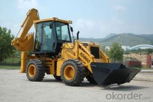 XD860 Integral Backhoe Loader Cummins Engine Capacity 1m3 Backhoe Bucket Capacity 0.3m3