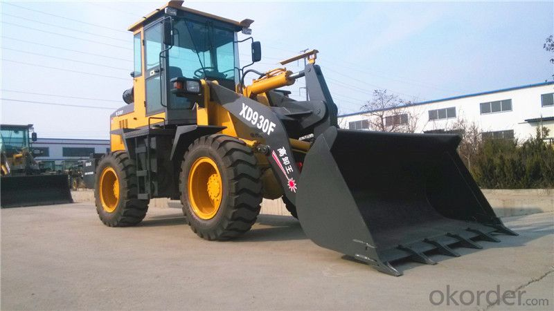 XD930F 2.5t Wheel Loader Payloader Bucket Capacity 1.2m3