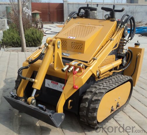 XD380 Wheeled and Tracked Mini Skid Steer Loader