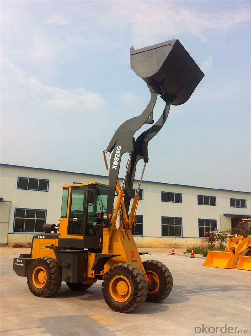 XD926 High Lift Loader for Cotton Factory