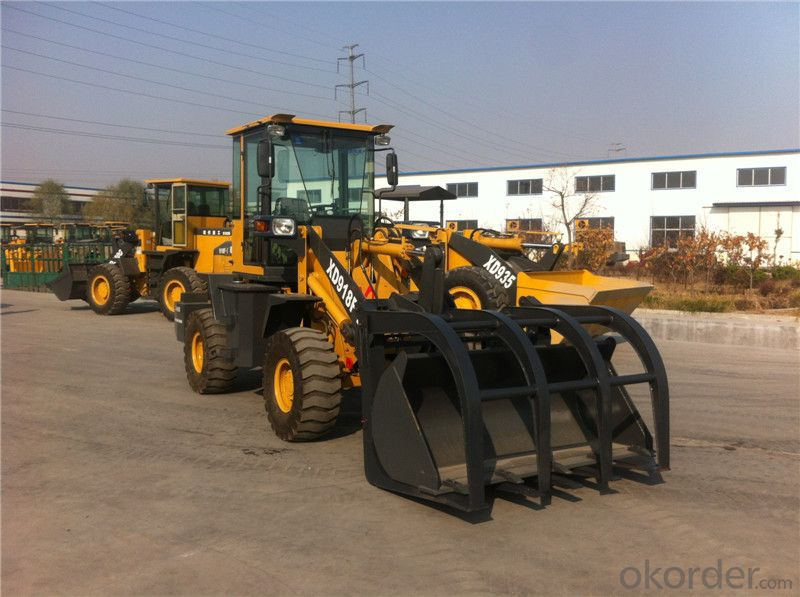 XD922G 1.8T Grass Sugarcane Grapple Wheel Loader