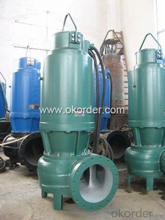 WQ Vertical Sewage Centrifugal Submersible Pumps With Good Quality