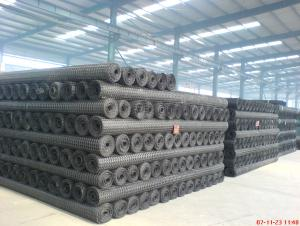 HDPE Uniaxial Geogrid PP Baixial Geogrid Good Quality for Highway