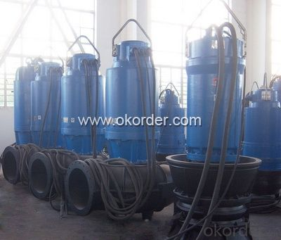 WQ Series Vertical Sewage Centrifugal Submersible Pumps