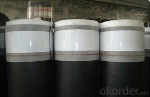 Self-adhesive Bitumen waterproof membrane 1mm-4mm