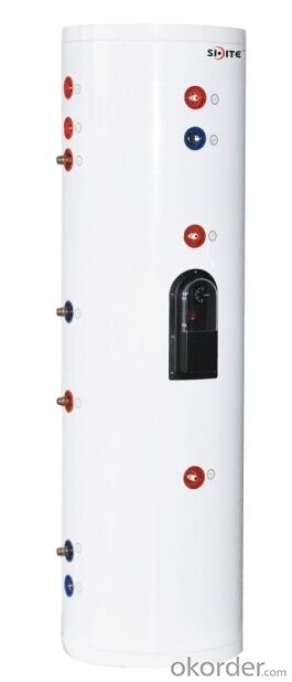Pressurized Tank for (Solar) Water Heater