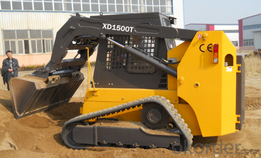 XD1500T 1500KGS Tracked Skid Stter Loader