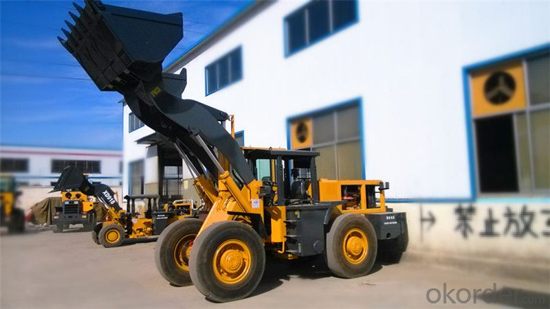 XD935 3.0ton Underground Wheel Loader for Mining
