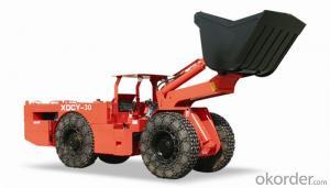 XDCY-30 1.5cbm Scooptram 3.0ton Diesel LHD Load