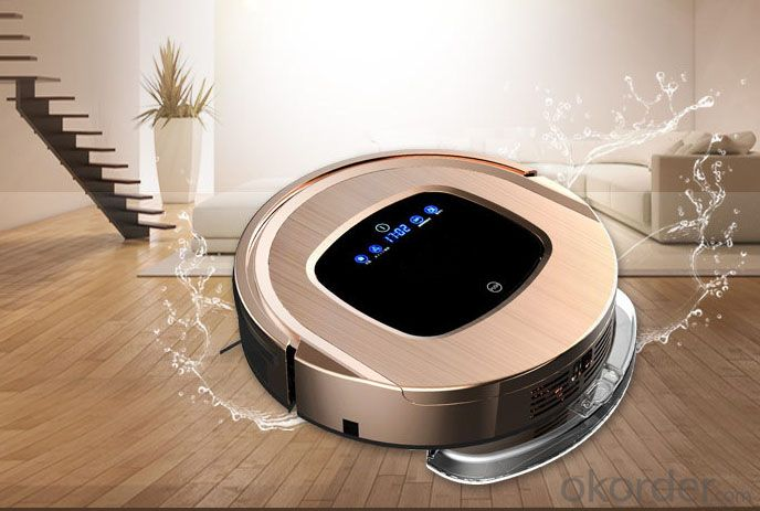 Robot Vacuum Cleaner 2015  remote control 6 In 1 Multifunctional