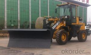 XD918F Wheel Loader with Snow Blade