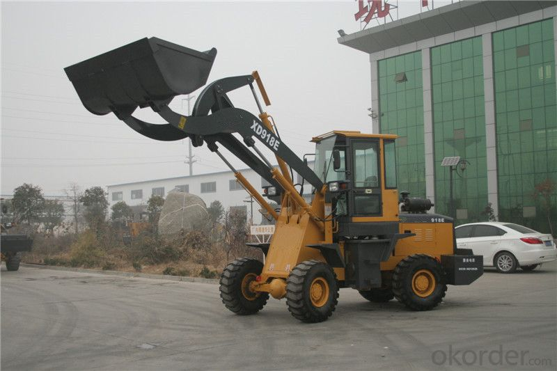 XD918F High Lift Loader for Cotton Factory