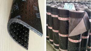 Modified Rubber Asphalt SBS Bituminous Waterproofing Membrane For Bridge In Rolls