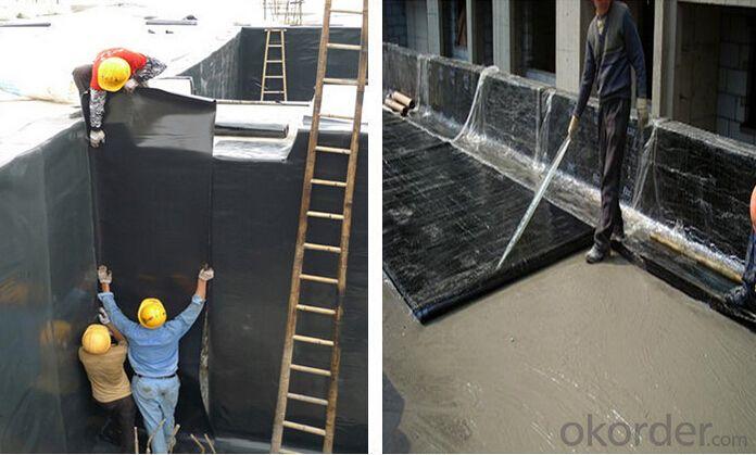 APP/SBS Modified Bitumen Waterproof Membrane For Roof