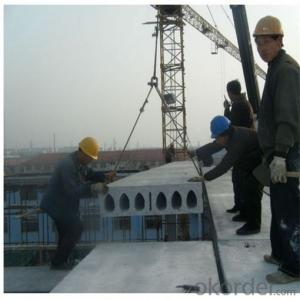 Precast Concrete Hollow Core Floor Panel Extruder