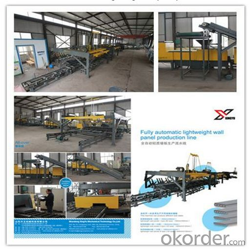 Prefab Concrete Hollow Core Panels Production Line