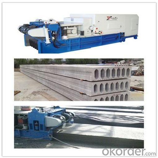 Automatic Mobile Concrete Hollow Core Roof Production Line
