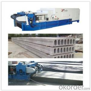 Automatic Mobile Concrete Hollow Core Roof Production Line