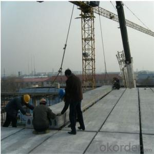 Residental Concrete Hollow Core Floor Machine