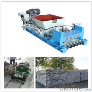Precast Concrete Hollow Core Floor Making Machine