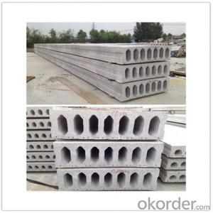 Prefab Concrete Hollow Core Roof Slabs Fabricating Machine