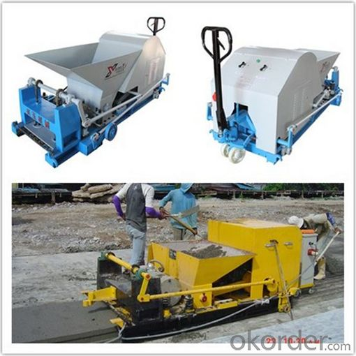 Concrete Roof Slab Extruded Molding Machine