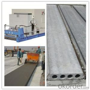 Reinforced Concrete Hollow Core Slab Production Line