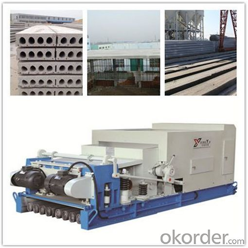Reinforced Concrete Floor Plate Extruder Machine