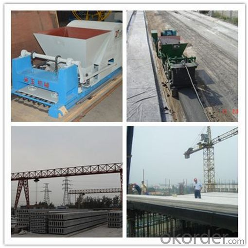 Large-spaned Pre-stressed Molding Machine for Concrete Panels