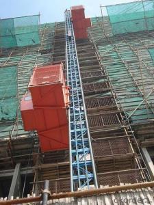 Double-pillar Heavy-duty Construction Hoist /Material Hoist /Industrial Hoist /Lift /Elevator
