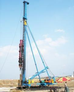 CFG Series CFG20 Hydraulic Foot-Step Long Auger Drilling Rig