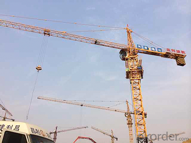 Tower Crane of Chang Li Model Number QTZ160 (6516)