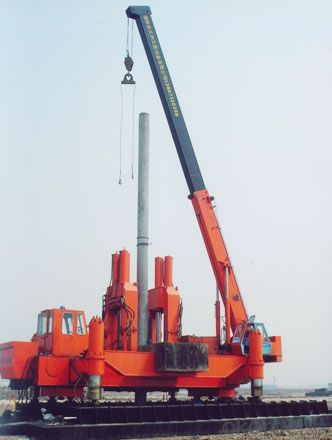 ZYC series ZYC900B multi-functional Hydraulic Static Pile Driver