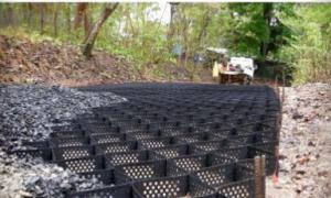 HDPE Geocell Steel Reforced  Smooth Geocell Grass Paver