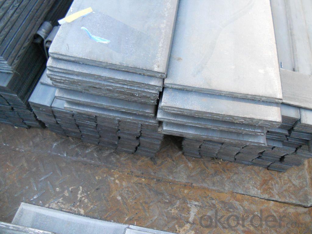 Slit Cutting Flat Bar in Material Grade Q235B Steel Flat Bars