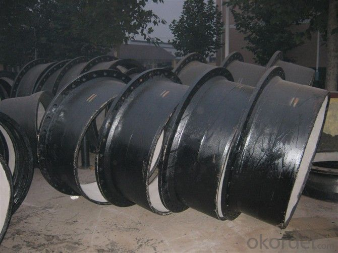 Ductile Cast Iron Pipe Fittings All Flanged EN545/EN598 DN1600 Bitumen Coating